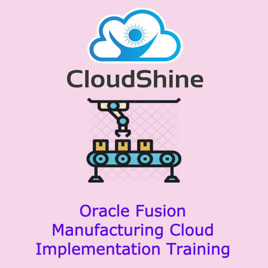 oracle fusion manufacturing training India