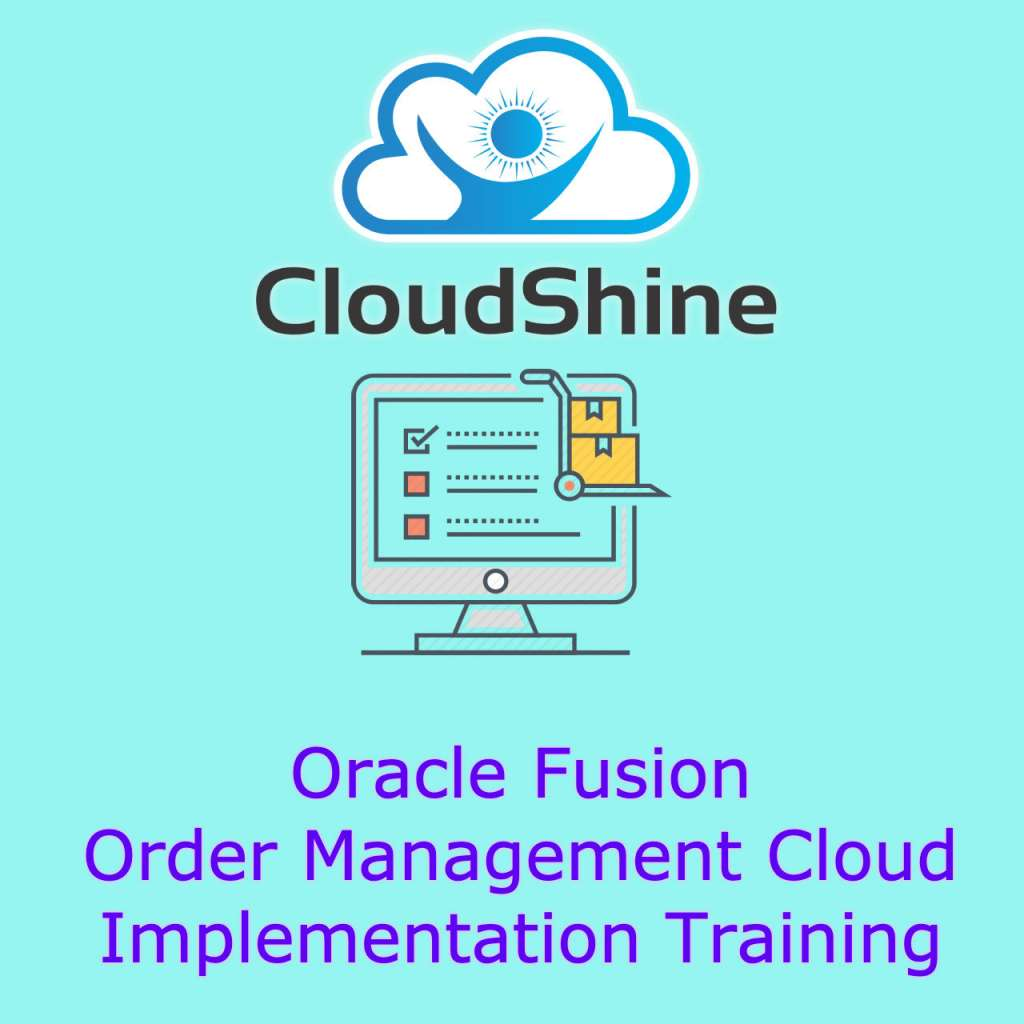oracle fusion Order management training India
