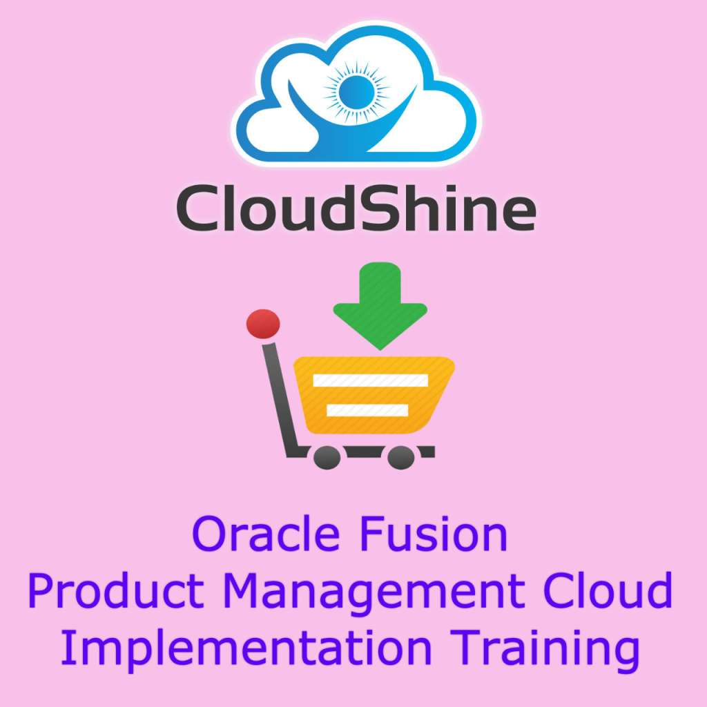 Oracle fusion Product Management training