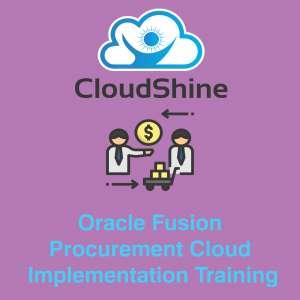 oracle cloud procurement certification