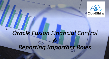 Oracle Fusion Financial Control & Reporting Important Roles