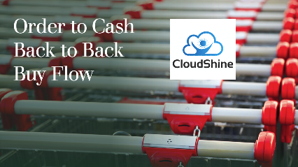 Order to Cash Back to Back Buy Flow – Step 1: Order Creation
