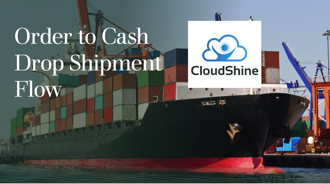 Order to Cash Drop Shipment Flow